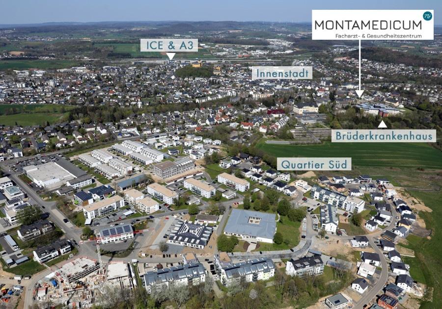 Geographische Übersicht | Das Montamedicum in Montabaur