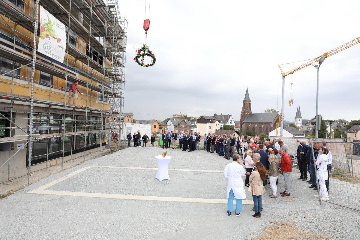 Richtfest 6 | Das Montamedicum in Montabaur
